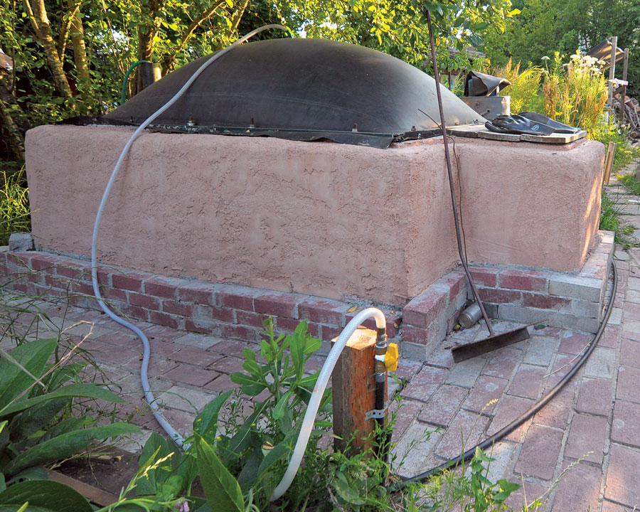 Natural Gas From Biogas Digester – Freedom For Sustainability