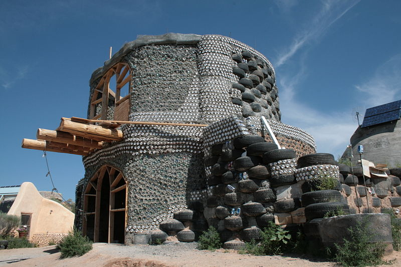 Earthship Tire Houses Freedom For Sustainability